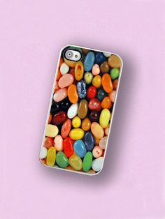 iPhone Case Jelly Bean Candy iPhone Hard Case by TheCuriousCaseLLC, $18.00