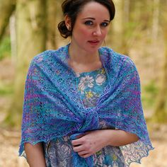 Serafina, a Lace Shawl knitting Pattern by Anniken Allis in Artesano Hand Painted Lace Alpaca and Silk Yarn or Wool This yarn costs just £6.99. you can get a further 20% discount if you sign up to the Artesano newsletter