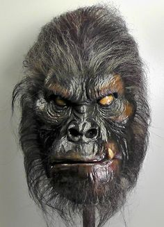 Limited Edition Collectible Bigfoot Mask by InconvenientOddities    http://www.etsy.com/listing/115201255/limited-edition-collectible-bigfoot-mask?ref=sr_gallery_4=sr_91fc13e5e6045145957b0dd3629633bae8cc09129ed76ea87ad5a10b56597e09_1362784267_14498627_sasquatch_search_query=sasquatch_view_type=gallery_ship_to=US_ref=auto1_search_type=all