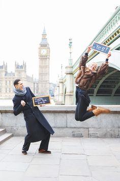 Engagement photo shoot in London. Фотосессия в Лондоне
