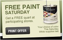 FREE paint at Ace Hardware!