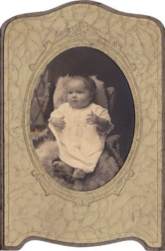 Wings of Whimsy: Vintage Cutie baby