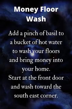 Entertainment Discover As simple basil floor wash to bring money into the home. Hoodoo Spells Magick Spells Wiccan Witch Healing Spells Good Luck Spells Lost Love Spells Money Prayer Money Spells That Work Wiccan Quotes Hoodoo Spells, Magick Spells, Pagan Witchcraft, Healing Spells, Wiccan Witch, Candle Spells, Good Luck Spells, Love Spells, Real Spells