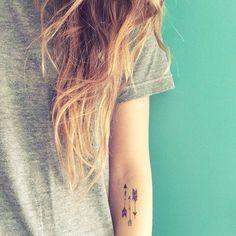 bohemian arrow temporary tattoos / set of 7 colorful boho fake tattoos / festival fashion / stocking stuffer / happytatts etsy Boho Tattoos, Fake Tattoos, Feather Tattoos, Great Tattoos, Girl Tattoos, Small Tattoos, Tattoos For Guys, Temporary Tattoos, Tatoos