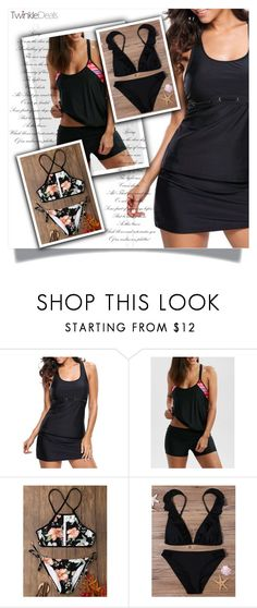 """""""black is always good idea"""" by melissa995 ❤ liked on Polyvore featuring black, Sexy and Elegant"""