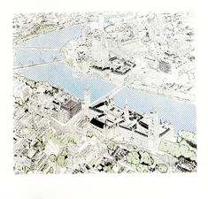 'Aerial Attraction of London' - Clare Halifax