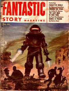 Fantastic Story Magazine    Science Fiction Pulp Magazine
