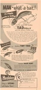 old fishing advertisements | Vintage Fishing Advertising