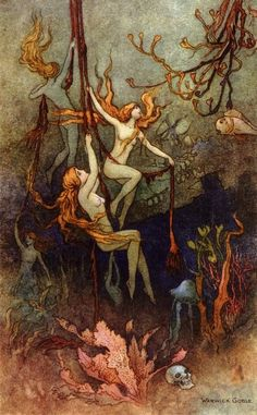 Warwick + Goble nymphs. Absolutely gorgeous!