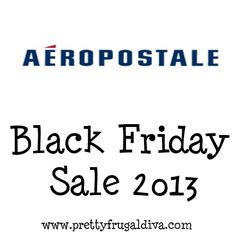 Aeropostale Black Friday 2013