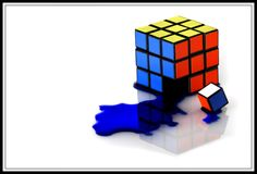 Bleeding Rubik's cube