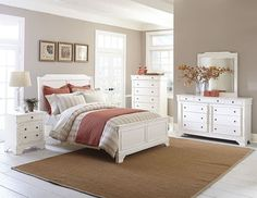 Derby Run Bedroom in White