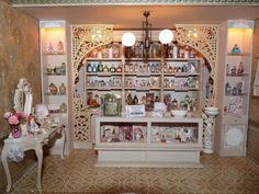 Image result for dollhouse miniatures perfume shop
