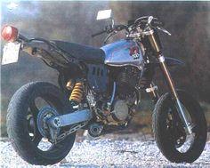 how an xt should look Custom Motorcycles, Custom Bikes, Cars And Motorcycles, Mx Bikes, Dirt Bikes, Sr 500, Motorcycle Dirt Bike, Power Bike, Street Tracker