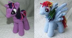 LOVE Moogly patterns, this one is:  My Little Pony: Friendship is Magic: Free #crochet unicorn pattern