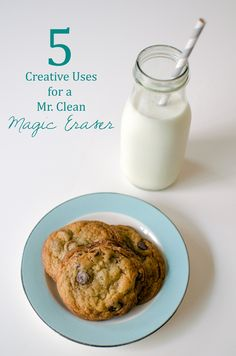 Unique Uses for a Mr. Clean Magic Eraser | A Side of Sweet