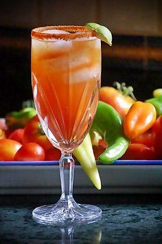Cinco de Mayo drink recipes starring a michelada!