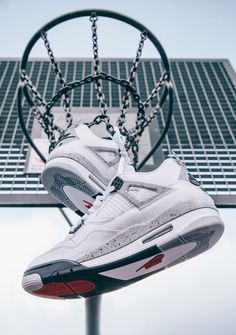 release date 9188b 430d9 Nike Air Jordan IV White Cement shopping now on the website www.diybrands