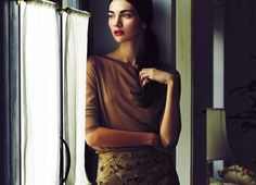 visual optimism; fashion editorials, shows, campaigns & more!: conservative chic: antonina vasylchenko by mitsuo okamoto for spur march 2014...
