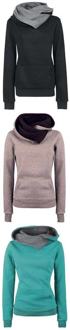 Enjoy your leisure life here. 25% off for the first-50th orders, JUST $26.99 NOW! featuring contrast color hood and fleece lining. Shop this look at CUPSHE.COM !