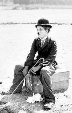 "CHARLIE CHAPLIN... ""A tramp, a gentleman, a poet, a dreamer, a lonely fellow, always hopeful of romance and adventure."""