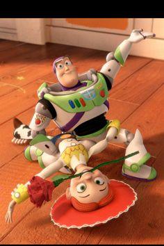 *JESSIE & BUZZ LIGHTYEAR ~ Toy Story