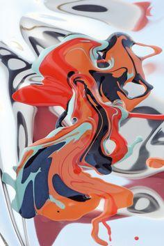 cinqfruits:  color reflect / Picture by Mathieu Missiaen / Shot at l'atelier carré