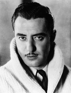"""Conocido como """"The Great Lover"""", estrella del cine mudo Sr. Gilbert ofrece un impresionante circunferencia en el labio superior. Es una sorpresa que su co-estrella, Greta Garbo informes, lo dejó plantado en el altar. Especialmente con su gusto por los géneros de punto también."""