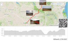 Albacete - Utiel, durch die Täler  Vollständiger Bericht bei: http://agu.li/1gG  Wie erwartet ging es noch längere Zeit über flaches Gelände, bevor mein Weg ein Bachbett nach dem anderen zu kreuzen anfing. Die kleineren gingen ja noch. Etwas schmerzlich war dann aber das hinaufkurbeln der 300 verlorenen Höhenmeter eben doch. Das GPS registrierte: 108.49 KM und 1075 Höhenmeter.