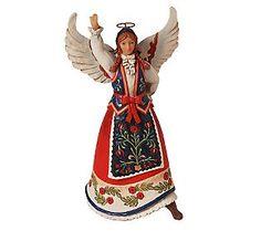 Jim Shore Heartwood Creek Polish Angel Figurine $28.91