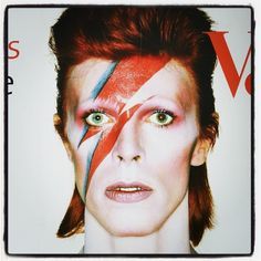 "If you're a Bowie fan (and who isn't?) you're likely counting down the days until the opening of Brooklyn Museum's ""David Bowie is,"" which will undoubtedly be t Aladdin Sane, Annie Lennox, Grace Jones, Ziggy Stardust, Kanye West, Madonna, Cover Shoot, Brian Duffy, The Thin White Duke"