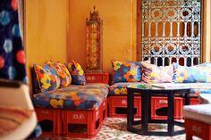 Freunde von Freunden — Hassan Hajjaj — Artist, Designer & Filmmaker, Old Town, Marrakech — http://www.freundevonfreunden.com/interviews/hassan-hajjaj/