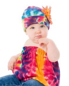 Rainbow Tie Dye Infant Disaster