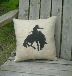 Buckin Horse pillow!