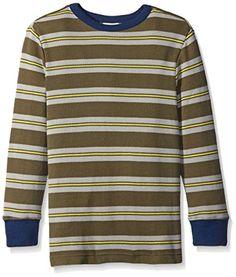 d5f9345290 Crazy 8 Big Boys Jolly Green Stripe Thermal Tee Jolly Green Large1012 --  Check out this great product.Note It is affiliate link to Amazon.  2017