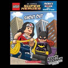 Lego DC Superheroes phonics workbook #superhero #lego #dcsuperheroes #illustration #childrensillustration #illustrator #childrensbook #digitalillustration #digitalart #illustratorsoninstagram