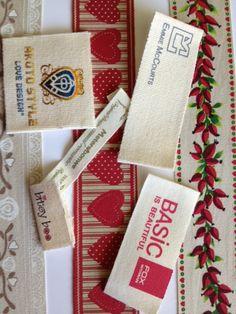 Cotton Designer Labels www.perfectlabelslanyards.co.uk