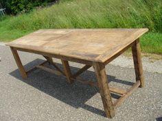 Franse eiken tafels - Bordighera