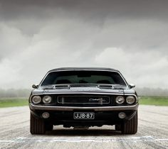Classic Dodge Challenger: Front Bad Lowered Stance - LGMSports.com