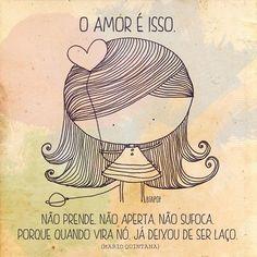 Amor e só..