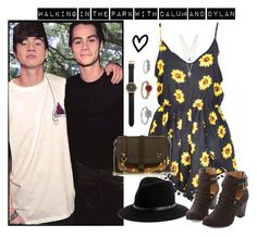 """""""☼ Walking in the park with Calum and Dylan ☼"""" by chorofila ❤ liked on Polyvore"""