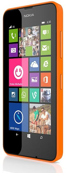 Nokia Lumia 630 powered by Windows Phone 8.1   -I knew I'd moved into the 21st Century when I finally bought a smart phone.