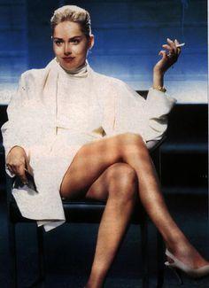 Sharon Stone in Basic Instinct (1992)