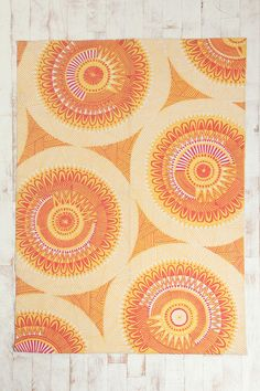 Urban Outfitters Southwestern Medallion rug, 74 bucks. I love the Southwest!