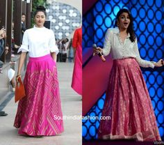 lehengas with shirts