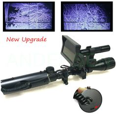 Hot Outdoor Hunting optics monocular Tactical digital Infrared night vision telescope binoculars use in Day Night For Riflescope-in Telescope & Binoculars from Tools on Aliexpress.com | Alibaba Group