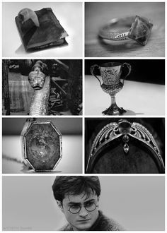 """7 horcruxes -  of 8.  Remember Voldemort himself was the 7th piece of soul.  Harry was the """"accidental 8th""""  the one he never intended to make."""