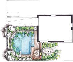 Epic Badeteich Aufsicht Gartenplanung Garten Schwimmteich Gardenplanning Garden Naturalpool