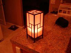 diy shoji lamp #microfilm