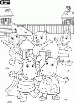 12 Best Nick Jr coloring pages images | Nick jr coloring pages ...